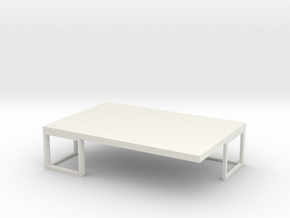 Coffee Table  in White Strong & Flexible