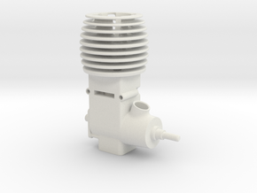 Mini 2 Stroke Motor in White Strong & Flexible