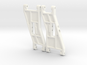 NIX91051 - B2 front arms, Classic look in White Strong & Flexible Polished