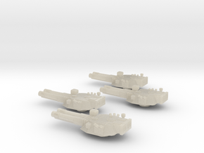 285 Mk IV Destroyer turrets in White Acrylic