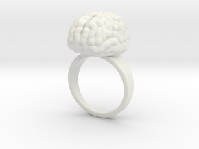 Intelligent Brain Ring in White Strong & Flexible