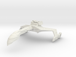 Romulan Wildfire Refit A in White Strong & Flexible