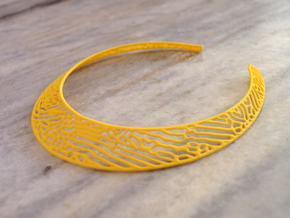 Necklace RD in Yellow Strong & Flexible Polished
