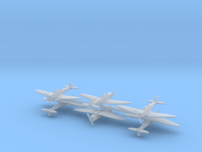Heinkel He.70 (6 Airplanes) 1/700 in Frosted Ultra Detail