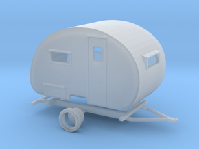 1949 Boles Aero Travel Trailer Ready For Shapeways in Frosted Ultra Detail