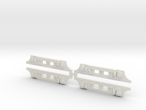 CA&E 450 Series GSC Truck Side Frame X4 in White Strong & Flexible