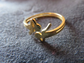 Airy Ring in 18k Gold Plated