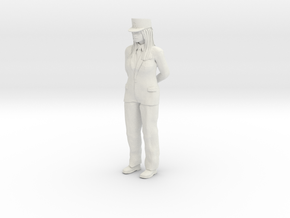 Female-conductor 1/24 in White Strong & Flexible