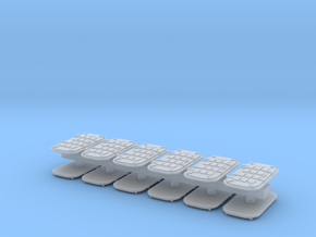 1:72 Navy water tight doors, armored - 12 doors in Frosted Ultra Detail