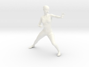 Karate in White Strong & Flexible Polished