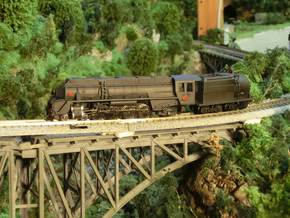 1:120 NZR J CLASS  (Fully Streamlined) in Frosted Ultra Detail