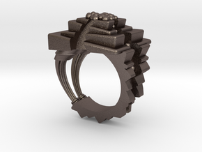 ArchitectureRing_Size7-7.5 in Stainless Steel