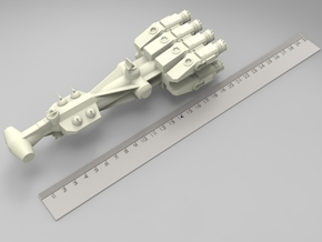 Star Wars: Correlian-Corvette (L200mm) in White Strong & Flexible