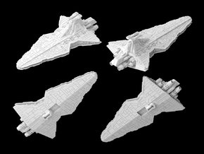 (Armada) Venator Star Destroyer in White Strong & Flexible