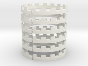 Crown Base x6 in White Strong & Flexible