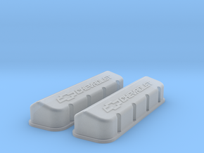1/18 BBC Large Logo Valve Covers in Frosted Ultra Detail