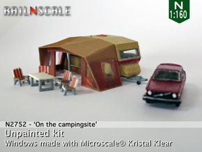 Camping Set (N 1:160) in Frosted Ultra Detail
