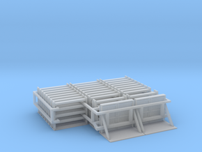 MOW Rail Frames - HOscale in Frosted Ultra Detail
