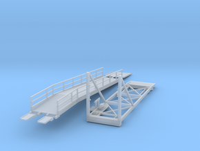 N Scale 1:160 Wilson Auto Ramp in Frosted Ultra Detail