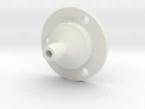 Drip Nozzle (3/8 Inch, 3 Holes) - 3Dponics in White Strong & Flexible