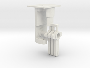 Signal Mech - 3 Arm in White Strong & Flexible