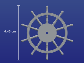1:40 Ships-Wheel HMS Victory in Frosted Ultra Detail