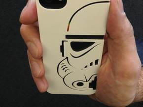 Stormtrooper Iphone 5 case in White Strong & Flexible