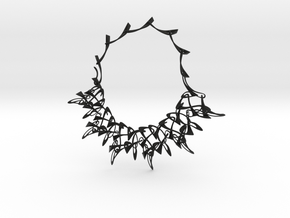 Counterpoint Necklace in Black Strong & Flexible