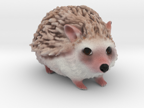 Custom Porcupine Figurine - Winston in Full Color Sandstone