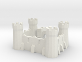 Signature castle in White Strong & Flexible