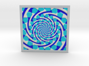 0178 Optical Illusion picture B (20cm) #004 in Full Color Sandstone