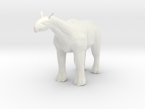 Paraceratherium 1 72(MEST 2015) in White Strong & Flexible