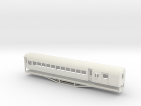 AL Car-van, New Zealand, (S Scale, 1:64) in White Strong & Flexible