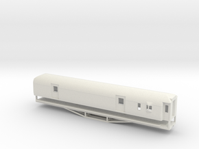 F 56ft Van, New Zealand, (OO Scale, 1:76) in White Strong & Flexible