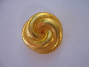 Knot 1 in Polished Gold Steel
