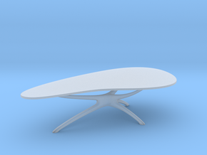 Mid-Century Cocktail Table 1:48 in Frosted Ultra Detail