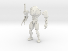 15mm scale mech -  Rapier in White Strong & Flexible