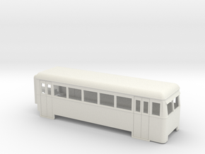 009 articulated railcar 5 window driving trailer in White Strong & Flexible