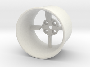 26.5mm Edf Housing in White Strong & Flexible