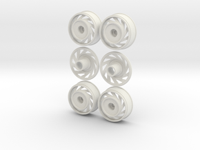 1:16 DIRECTIONAL Rims in White Strong & Flexible