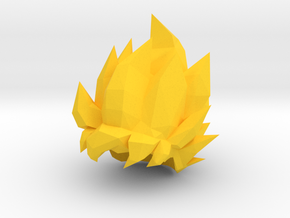 Goku Super Saiyan Lego Hair Dragon Ball Z in Yellow Strong & Flexible Polished