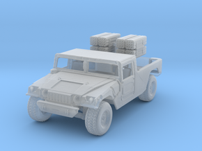 humvee rocket launcher in Frosted Ultra Detail