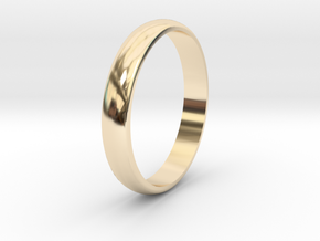 Ring Size 6 smooth in 14K Gold