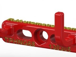 TPHanger68_130305 in Red Strong & Flexible Polished