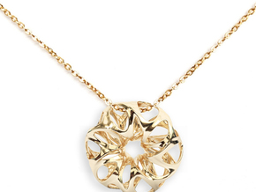 Summer Flower Pendent in 14k Gold Plated