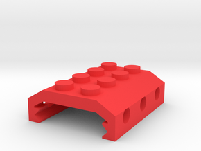 Building Block Picatinny Adapter in Red Strong & Flexible Polished