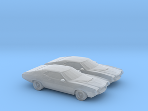 1/160 2X 1972 Ford Gran Torino in Frosted Ultra Detail