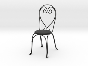 Vintage Cafe chair in Black Strong & Flexible