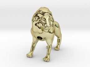 Lion in 18k Gold Plated