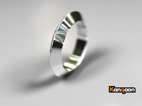 Cleo - Ring - US 6¾ - 17,12 mm in Polished Silver